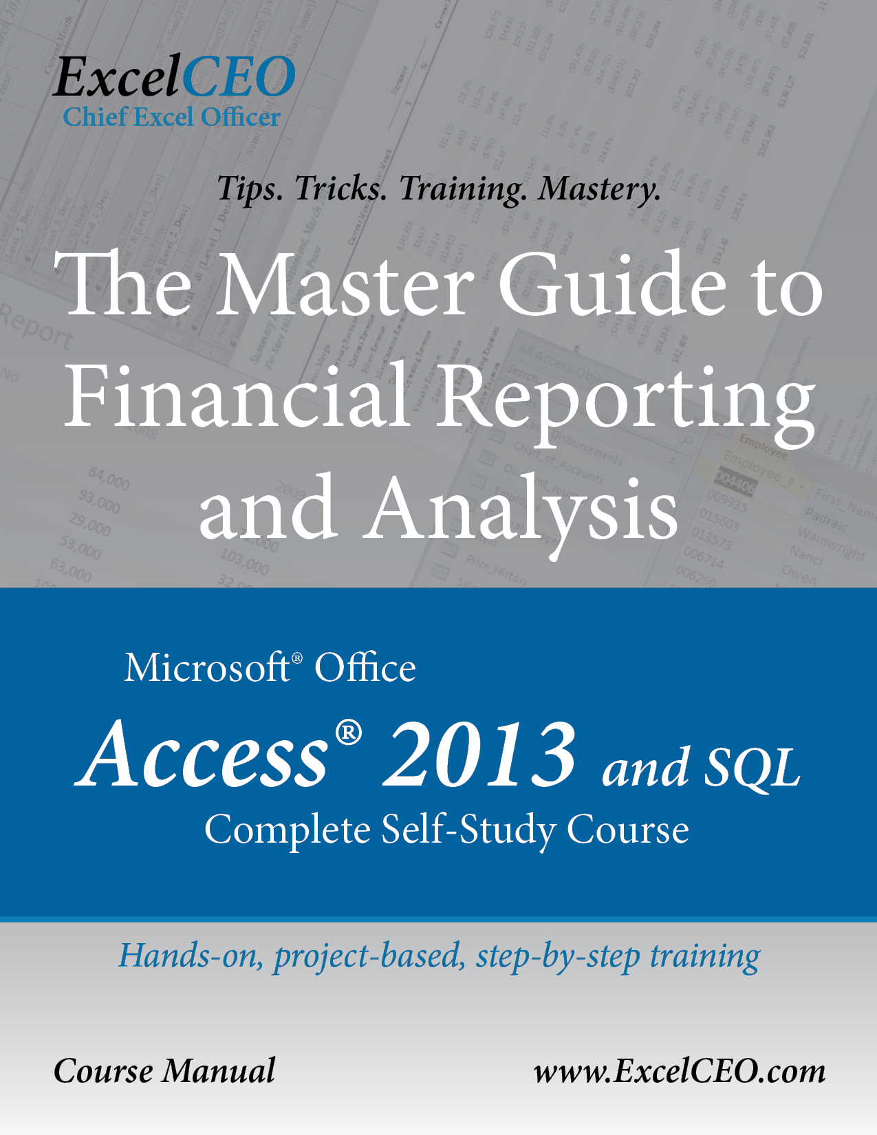 Access 2013 and SQL Manual Cover and Description Link