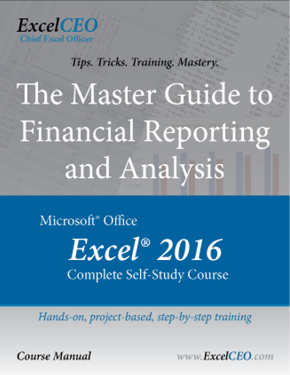 ExcelCEO Excel 2016